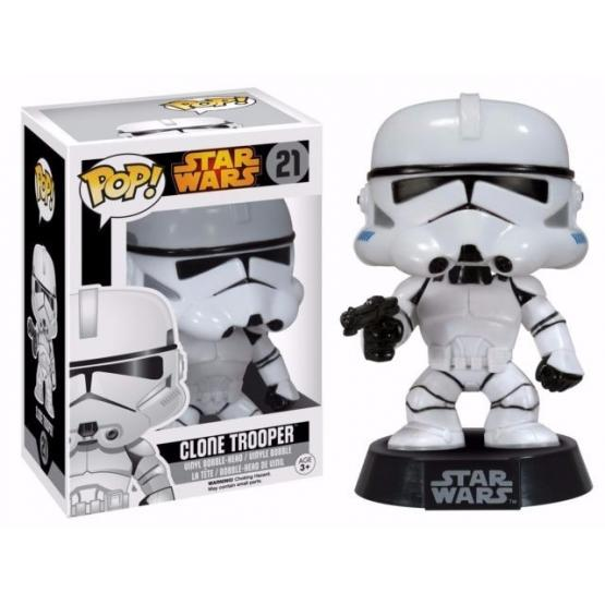 Funko Pop!  Star Wars Clone Trooper #21 Original