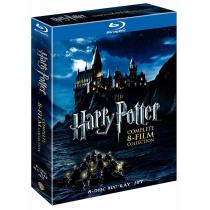Harry Potter 8 Film Collection Blu-ray Subs En Castellano (preventa)