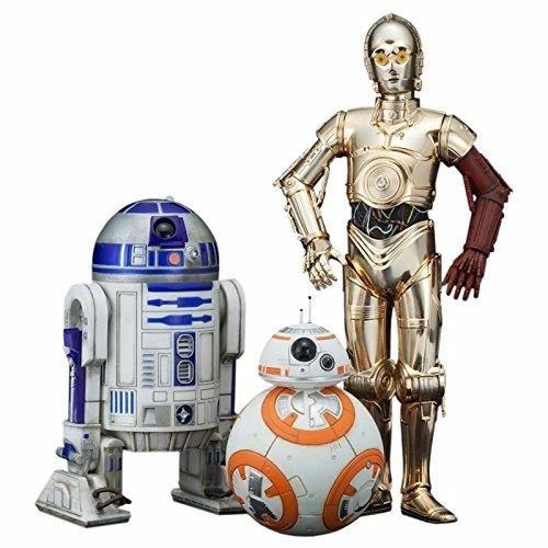 Kotobukiya Star Wars Episodio 7 C-3po   R2-d2   Bb-8 Artfx (preventa)